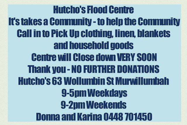 Hutcho's Recovery Centre sign